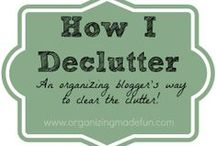 Home | Decluttering / by Paula Hats