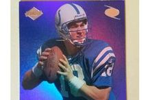 """PeytonManning RookieCards / Congratulations to Peyton Manning, """"The Sheriff"""",  on an amazing NFL career: 5 MVP's & Super Bowl MVP (2 Super Bowl Rings).   Nationsbest Football is proud to offer Peyton Manning 1999 Collector Edge Odyssey Preview #PM 3rd Quarter Rookie Promo Cards"""