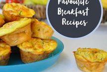 Favourite Breakfast Recipes / Healthy, delicious breakfast ideas.