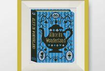 Cross Stitch Patterns (Alice In Wonderland)
