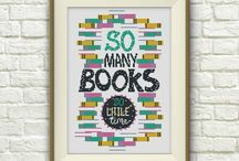 Cross Stitch Patterns (Bookish)