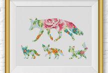 Cross Stitch Patterns (Animals)