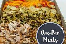 One-Pan Meals / Easy, delicious, kid-approved one-pan meals.