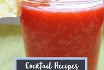 Cocktail Recipes / Delicious cocktail or alcoholic drink recipe ideas.