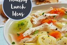 Healthy Lunch Ideas / Healthy and delicious lunch ideas.