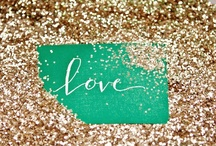 Glitter Flinging / Glitter makes every day better!