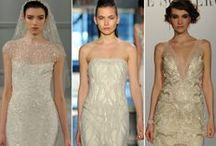 Bridal Fashion Week / Hot off the runway! A behind-the-scenes look at Bridal Fashion Week.