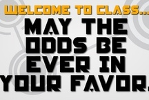 Classroom - Hunger Games Lessons / Hunger Games lessons!