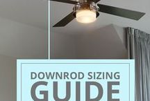 Del Mar Education Center / Visit our blog to learn more about some of our ceiling fan and lighting products, tips & tricks, DIY projects, home design ideas and much more: http://www.delmarfans.com/educate/
