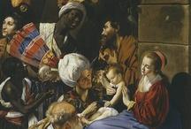 """La Adoración de los Reyes Magos / Así es como representan la escena de """"La Adoración de los Reyes Magos"""" algunos de los artistas presentes en el Museo"""