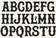 letters / typography, lettering