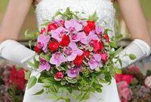 WEDDING - Flower / 新郎・新婦にかかせないブーケとブケトニア、更なる華やかさを演出してくれる装花デザインをご紹介します。