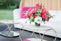 Flowers for the Table / To liven up the dinner table, by the bedside or in the dressing room - just because.