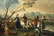 La danza en el Prado / Con motivo del Día Internacional de la Danza - 29 de Abril- recogemos en este tablero aquellas obras de la colección del Museo con escenas y temáticas vinculadas al baile.