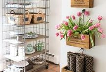 Spring Decor & DIY / Brighten up your home after a long winter with these Spring decor ideas!