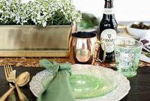 St. Patrick's Day Decor & DIY / Go green on St. Patrick's Day with these fun holiday home decor and DIY ideas!