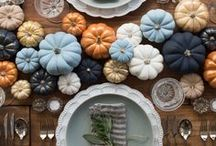Thanksgiving Decor & DIY / Hosting Thanksgiving dinner? Give thanks with your family in style with these Thanksgiving dinner ideas!