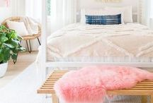 Bedroom Decor Ideas / Your bedroom is the scene of so many activities, from waking, dressing, and getting ready for your busy day to winding down and resting at the end of it. Select versatile and functional decor for comfort.