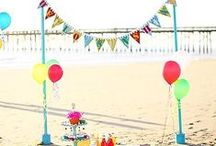 Beach Party / Throw a birthday party at the beach for your kids with our favourite tips and ideas!