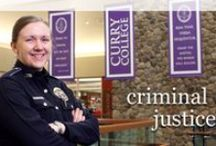 Criminal Justice Majors / .  We want you to succeed! Here is some valuable information we can share with you. Information on requirements for your area of study and Career advice. / by Curry College Center for Career Development