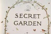 The Secret Garden Home Decor / Inspiration and ideas for Secret Garden themed prints, decor and homewards.