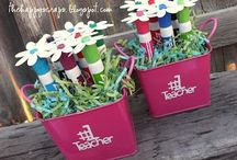 Crafty gifts / Things to make for teachers, neighbours, friends etc