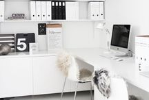 Office Inspiration / Workspaces, desks and offices that inspire creativity.
