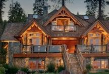 Barn House/Log Cabin...The Dream! / by Emilee Langbehn