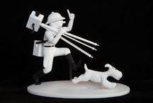 Tintin figurines Collection