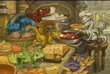 Dragon Art / My dragon fantasy art.