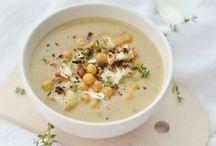 Food (soup) / Des bols de douceur, de saveurs, et de couleurs.