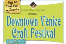 Venice Craft Festival / 8th Annual Venice Craft Festival returns  January 24th - 25th, 2015 ~ Saturday & Sunday  ~10am - 5pm ~ For more information, please visit www.ArtFestival.com   / by American Craft Endeavors