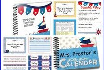 Nautical Theme / by Charity Preston - Organized Classroom