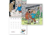 Calendrier Tintin / Tintin calendar