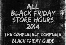 Black Friday Deals / Black Friday 2013 Deals - Thanksgiving Day 2013 Shopping Deals - Black Friday Ads - Black Friday Discounts - Thanksgiving Day and Black Friday Store Hours  More at http://retailindustry.about.com / by Retail Industry