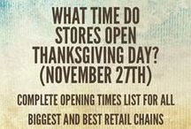 Thanksgiving Day Shopping Deals & Ads / Thanksgiving Day Shopping Deals & Ads 2014 / by Retail Industry