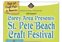 St Pete Beach Craft Festival / 12th Annual St Pete Beach Area Craft Festival ~ April 18th - 19th, 2015 ~ 10am - 5pm ~ For more information, visit www.ArtFestival.com / by American Craft Endeavors