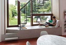 Nooks / Little nooks in and around the house to relax in.