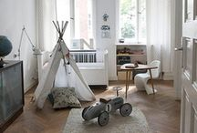 Children's Rooms / Bedrooms for kids, both pretty and practical.