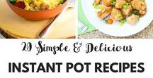 Instant Pot Recipes / The Instant Pot is highly versatile and you can use it as a pressure cooker, for saute/browning, as a slow cooker, rice cooker (I love rice, so this is totally awesome), steamer and warmer.  There are so many recipes you can make with it!  #instantpot #slowcooker #pressurecooker #ricecooker #recipes