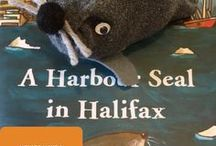 A Harbour Seal in Halifax Snacks / Snacks to go with the Itsy Bitsy Nimbus Book club virtual guide on Itsybitsyhaligonians.com