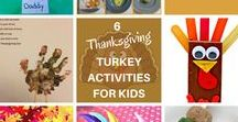 Thanksgiving Turkey Crafts / All about the star of the Thanksgiving show - the turkey!