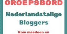 Nederlandstalige Bloggers / Blogs van Nederlandstalige Bloggers... over alle mogelijke onderwerpen... ideaal om toffe bloggers te ontdekken! ...   >>> Heb jij zelf ook een Nederlandstalig blog? En wil je graag hier jouw blogberichten delen? >> Stuur dan een berichtje naar Anbaco (1e foto) - graag Anbaco ook volgen, dan kan ik je een invite sturen voor dit groepsbord om mee te komen pinnen en re-pinnen.