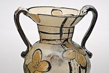 Ceramic. / Pottery and sculpture made primarily of that glorious material, clay. #pottery #pitcher #mug #cup #jar #sculpture #animal #figurative #awesome