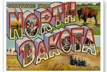 North Dakota. / Scenes & themes from North Dakota