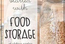 Food Storage / by Karen Tobich