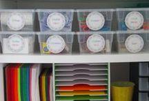 The Organized Classroom / Ideas and hacks to keep my classroom organized on a budget.
