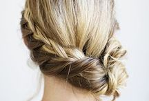 Hairstyle / How to do, DIY. Nice, elegant, classic, modern and day to day use hairstyles.
