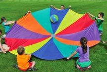 Field Day Fun / Ideas and inspiration for planning the perfect Field or Sports Day.  Whole group games and big fun activities.