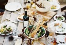 Gathering / Beautiful inspirations for outdoor and indoor gatherings